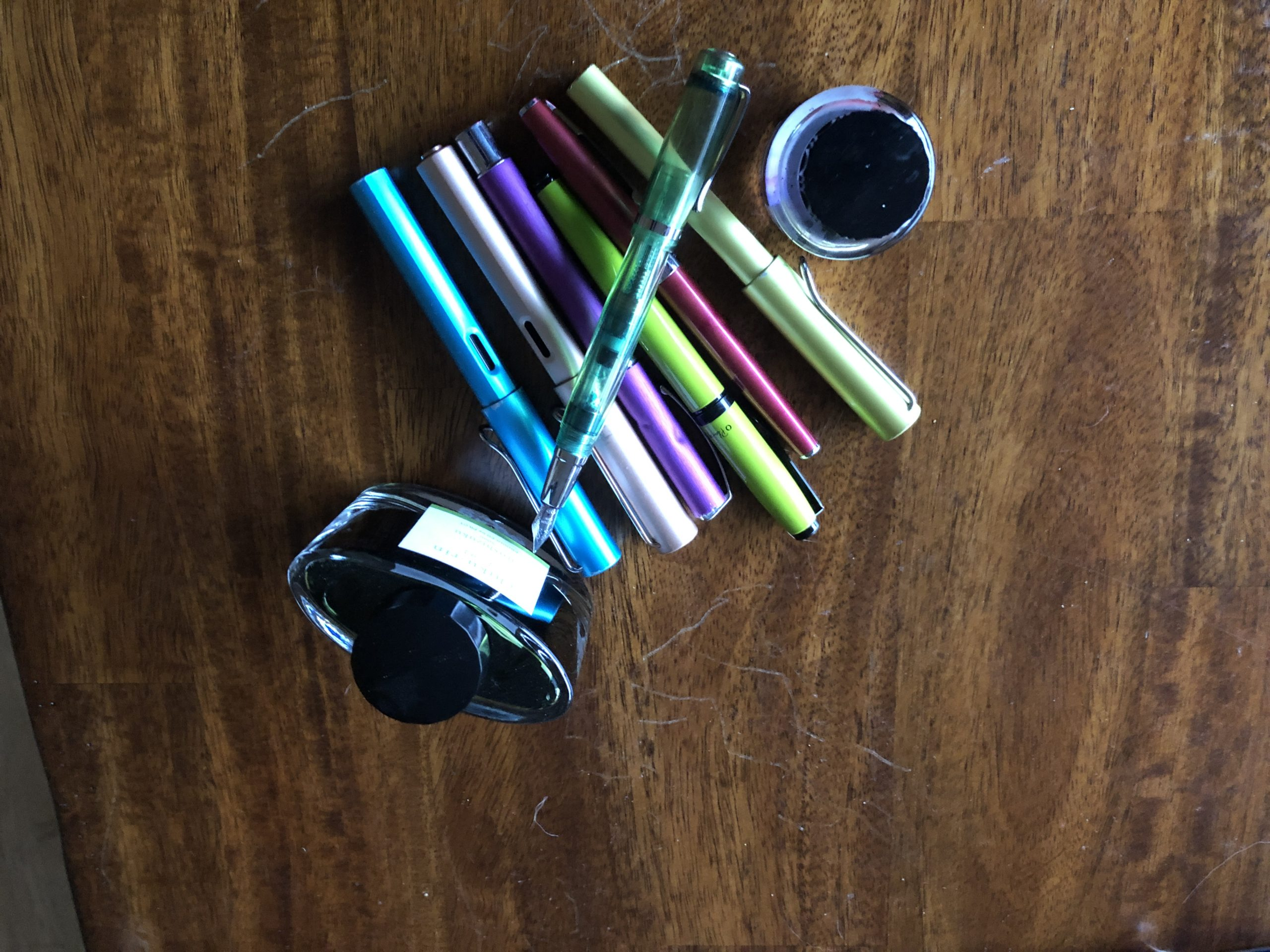 pens and ink
